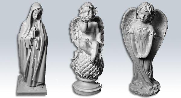 Скульптурные изделия.