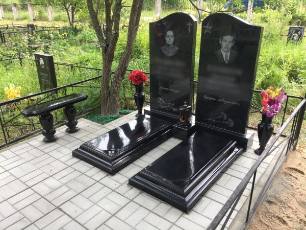 Цветник на могилу (Литьевой №005)