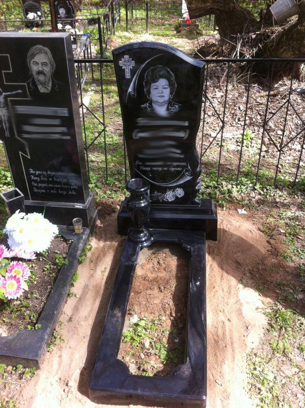 Цветник на могилу (Литьевой №008)
