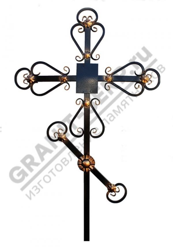 Крест метал. 0066