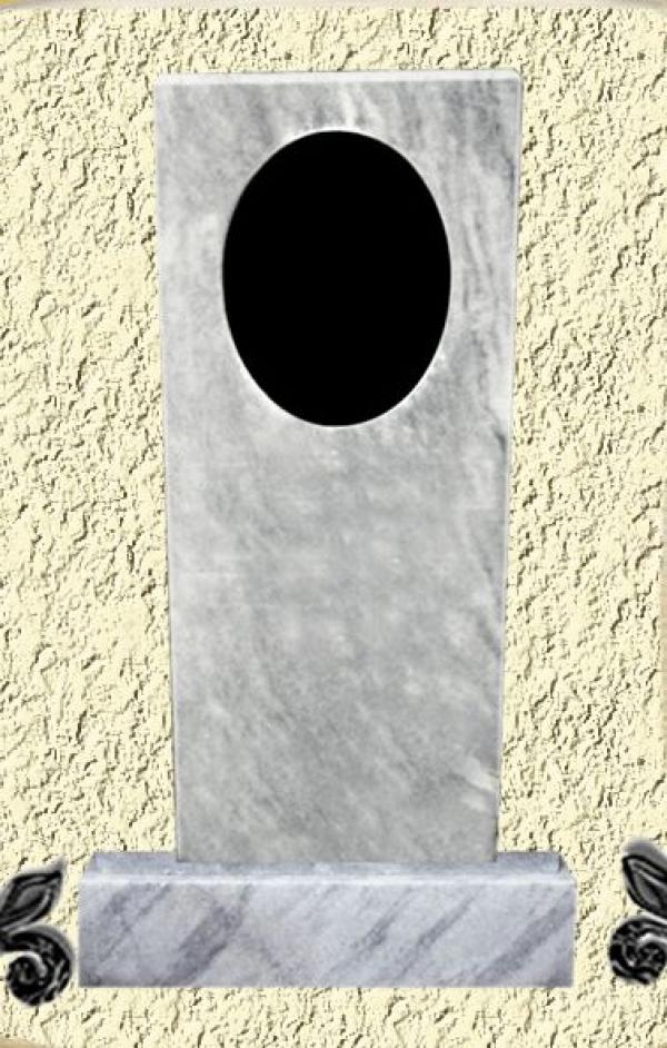 Мраморный памятник на могилу №01