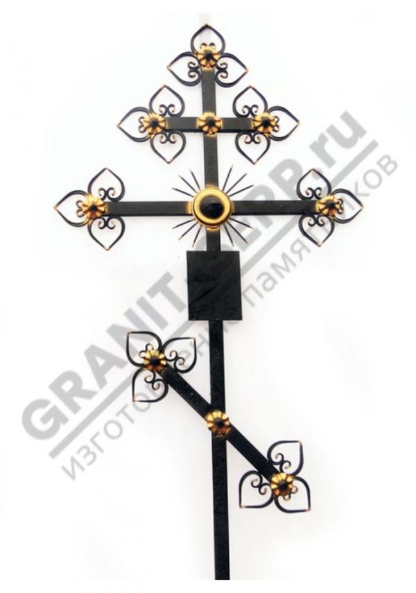 Крест метал. 002