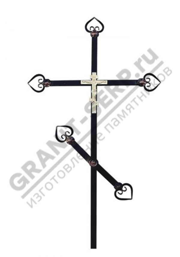 Крест метал. 003