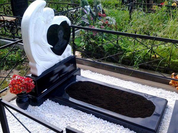 Цветник на могилу (Литьевой №001)
