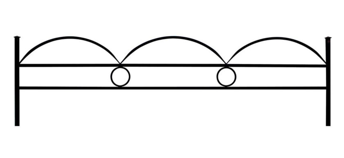 Ограда (Дуговая 15 с кольцом)