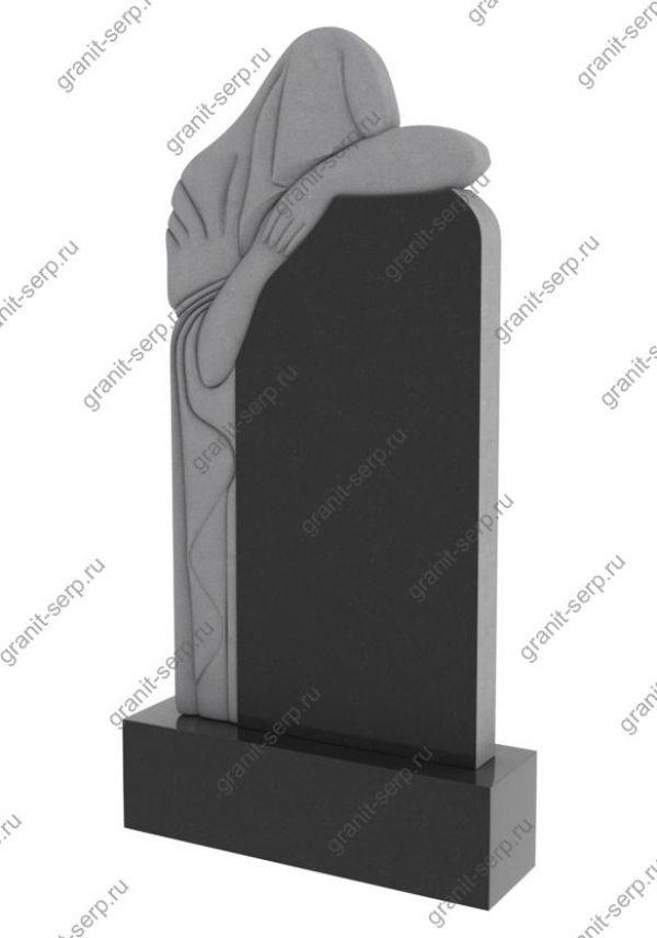 Памятник на могилу скорбящая мать №1206.