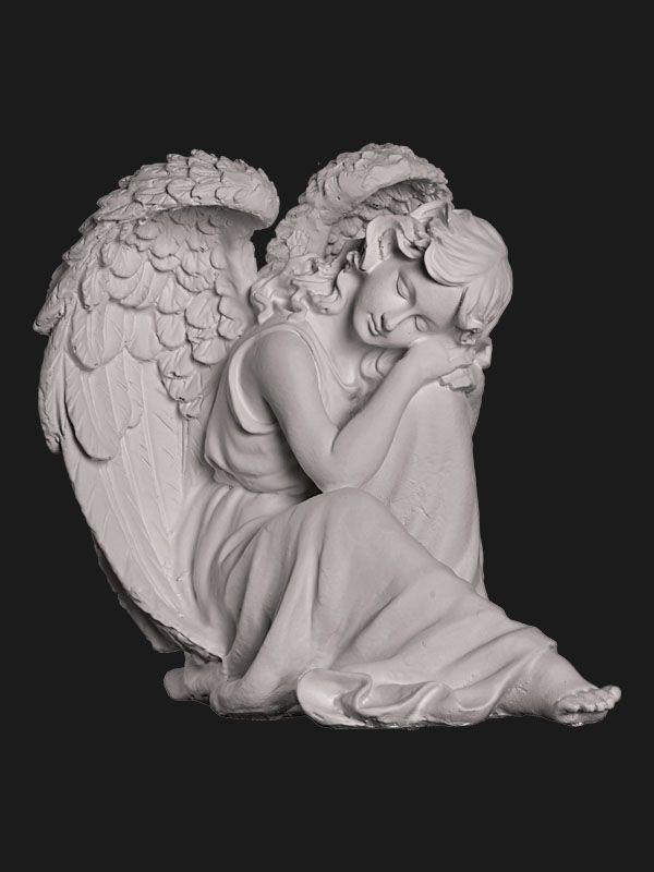 Скульптура из Литьевого мрамора №036 Ангел.