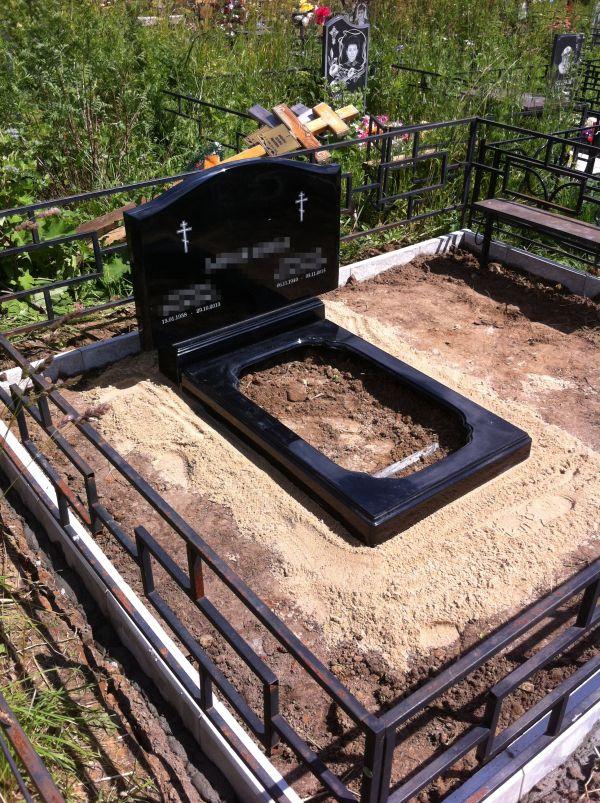 Цветник на могилу (Литьевой №007)