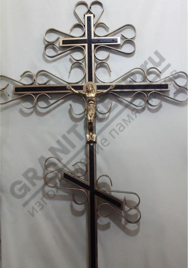 Крест метал. 0071