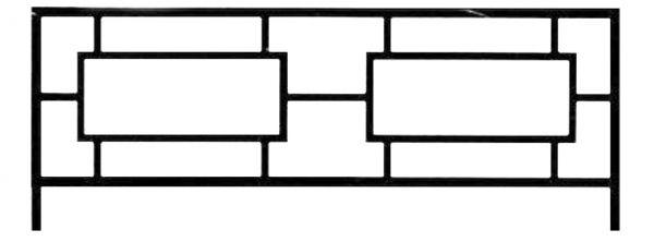 Ограда стальная № 029