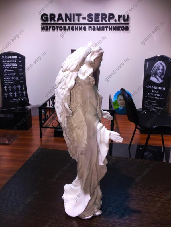 Скульптура из Литьевого мрамора №020 Скорбящая.