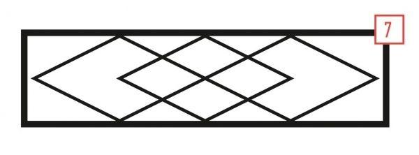 Ограда стальная № 7