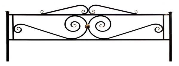 Ограда (Виктория с навершием)