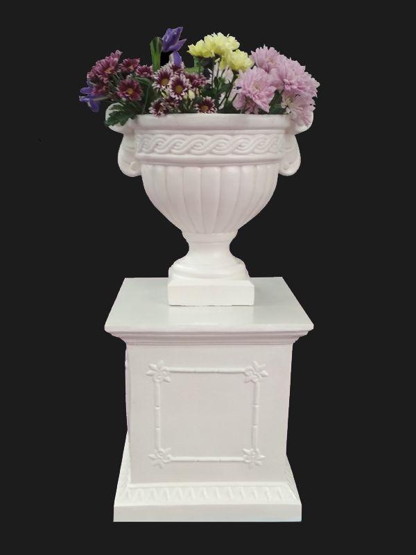 Скульптура из Литьевого мрамора №064 Вазон.